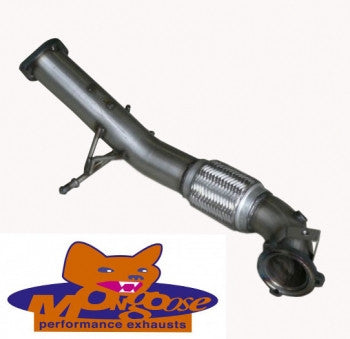 Focus ST Mk2 Mongoose 3 inch (76mm) downpipe