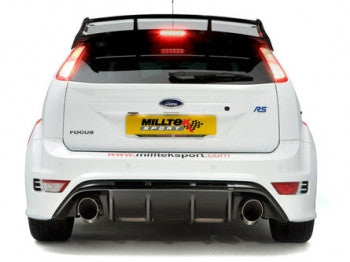 Focus RS Mk2 Milltek 200 cell Sports Cat 3 inch pipe work