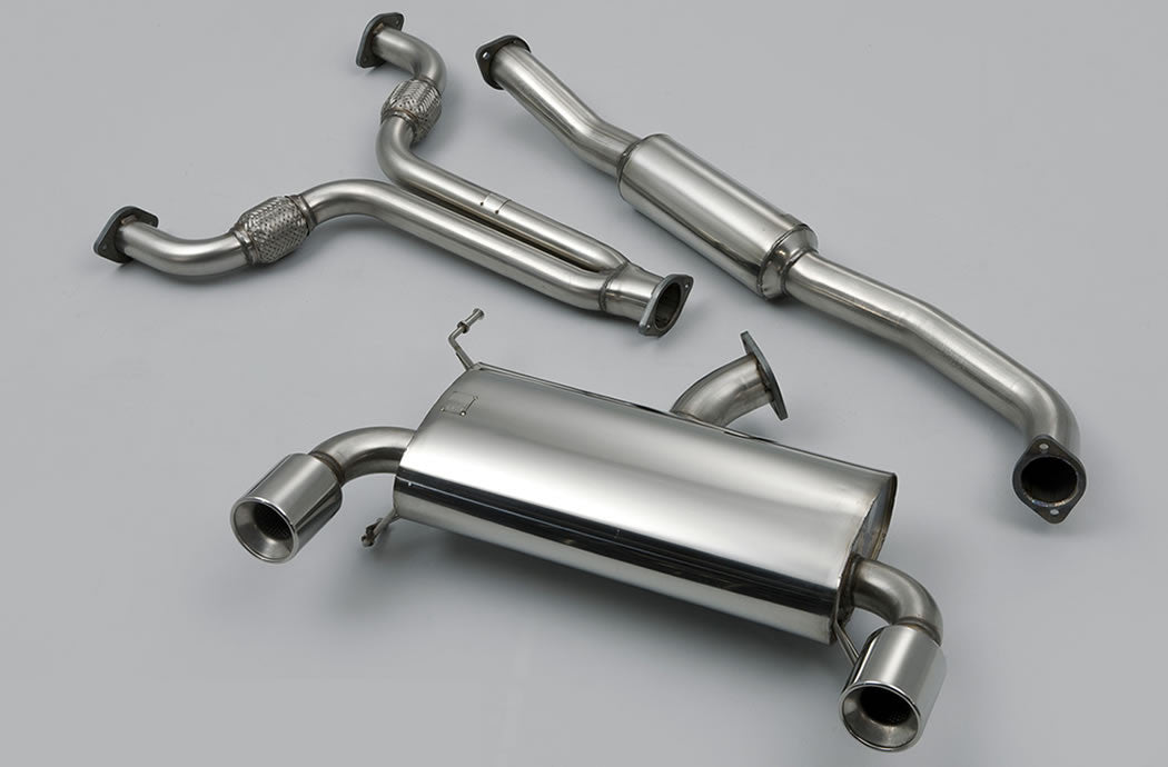 Milltek Exhaust Nissan 350Z 3.5 V6 Cat-back with Dual 100mm Meteor tailpipe (SSXNI001)