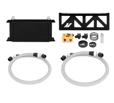 Mishimoto Black Thermostatic Oil Cooler Kit - Toyota GT86