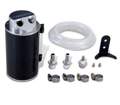 Mishimoto Carbon Fiber Oil Catch Can - universal fitment