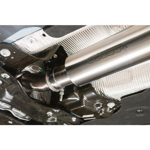 Ford Focus RS MK3 - Turbo Back Exhaust (Non-resonated / Valveless / with Sports Cat)