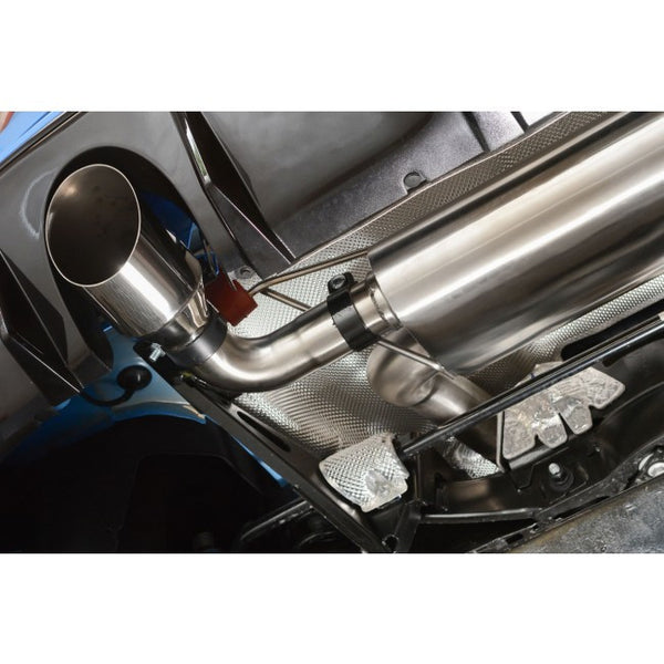 Ford Focus RS MK3 - Cat Back Exhaust (Valveless / Non Resonated)
