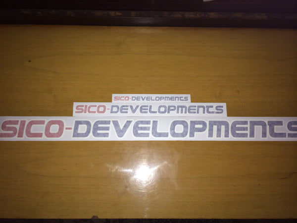 SICO-DEVELOPMENTS external stickers