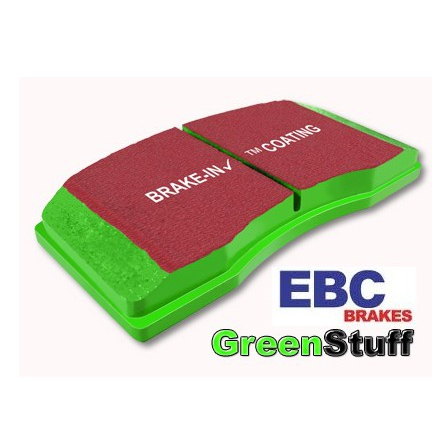 Fiesta ST Mk8 EBC Greenstuff 2000 Series Sport Brake Pad Rear Set