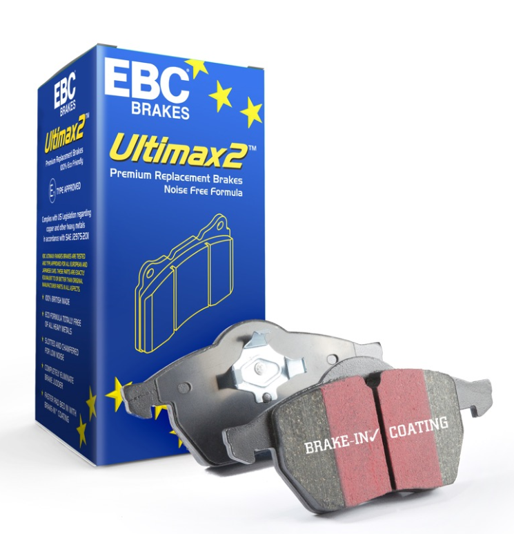 Fiesta ST Mk8 EBC Ultimax OE Replacement Brake Pad Front Set