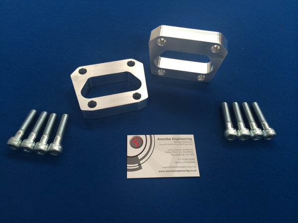 Anembo Billet Rear Axle Spacers with Bolts