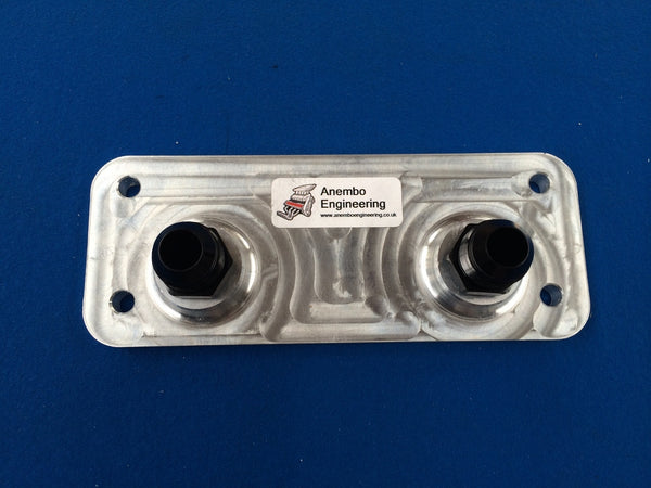 Anembo Engineering Ford Focus RS Mk2 / ST oil cooler adaptor plate
