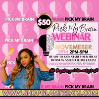 Pick My Brain Webinar