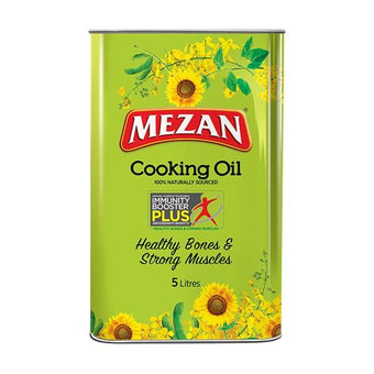 Mezan Cooking Oil Tin