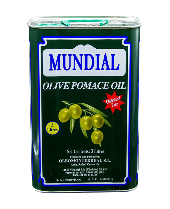 Olive Pomace Oil Tin