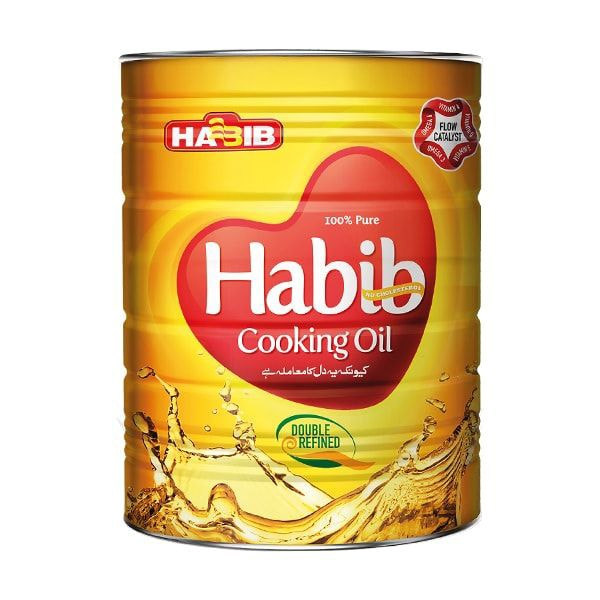 Cooking Oil Tin
