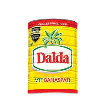 Dalda banaspati oil tin