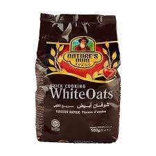 Nature's owns white oats