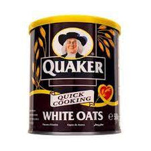 Nature's owns white oats tin