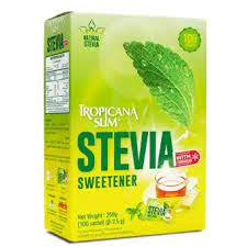 Tropicana Slim Stevia sweetner