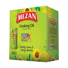 Mezan Cooking Oil Stand up Pouch Carton