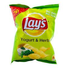 Yoghurt & Herb Chips