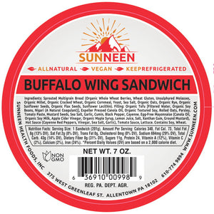 Load image into Gallery viewer, Vegan Buffalo Wing Sandwich