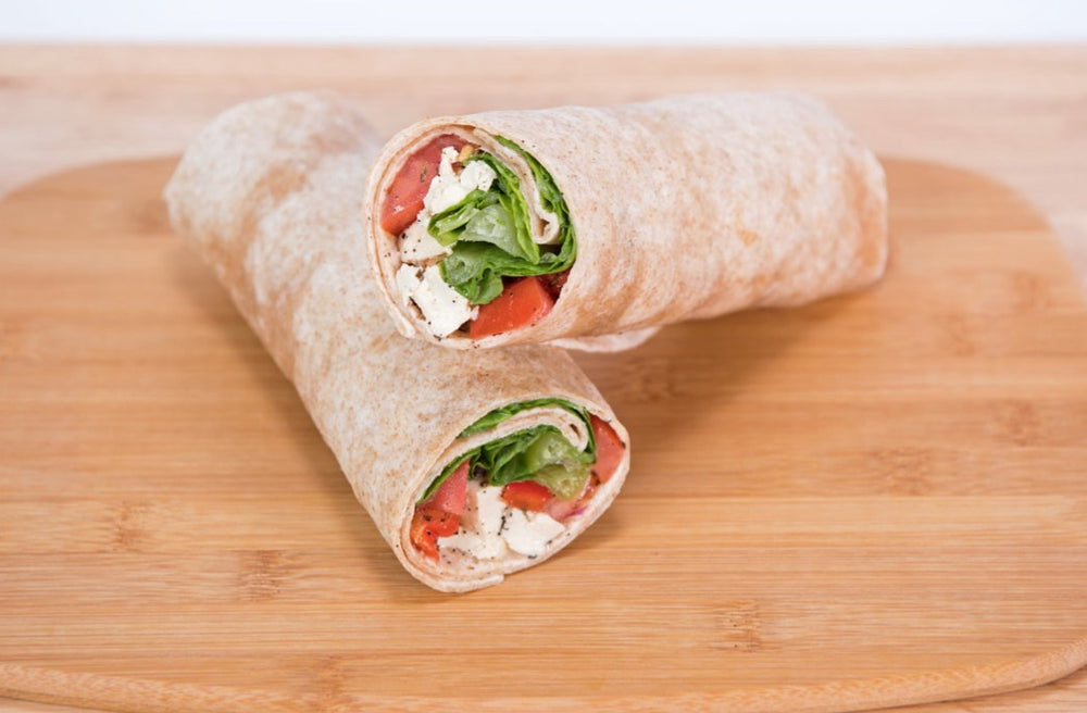"Greek ""Feta"" Wrap"