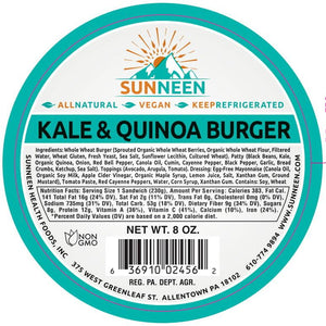 Load image into Gallery viewer, Kale & Quinoa Burger
