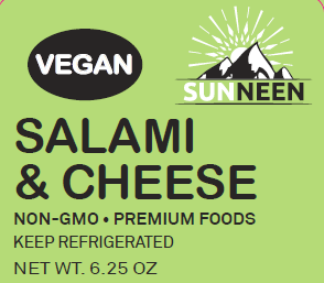 Load image into Gallery viewer, Vegan Salami & Cheese - Sunneen Health Foods