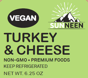 Vegan Turkey & Cheese - Sunneen Health Foods