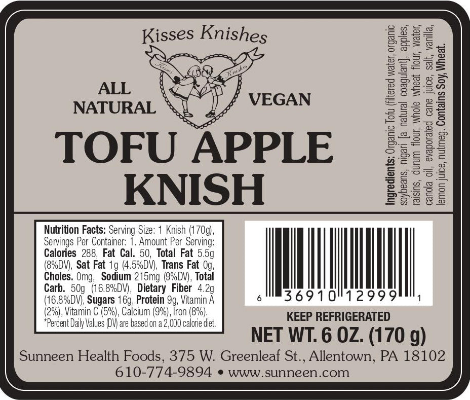Tofu Apple Knish