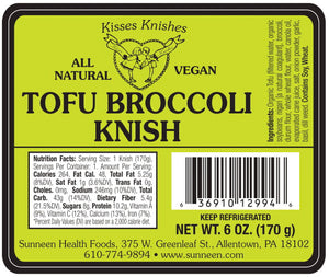 Load image into Gallery viewer, Tofu Broccoli Knish