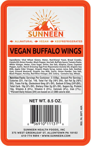 Vegan Buffalo Wings