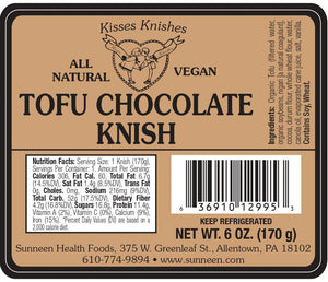Load image into Gallery viewer, Tofu Chocolate Knish