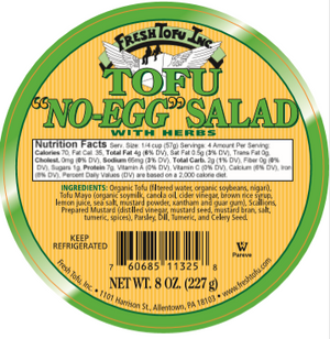 Tofu No-Egg Salad - Sunneen Health Foods