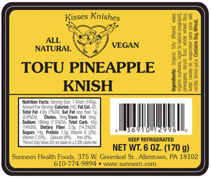 Tofu Pineapple Knish