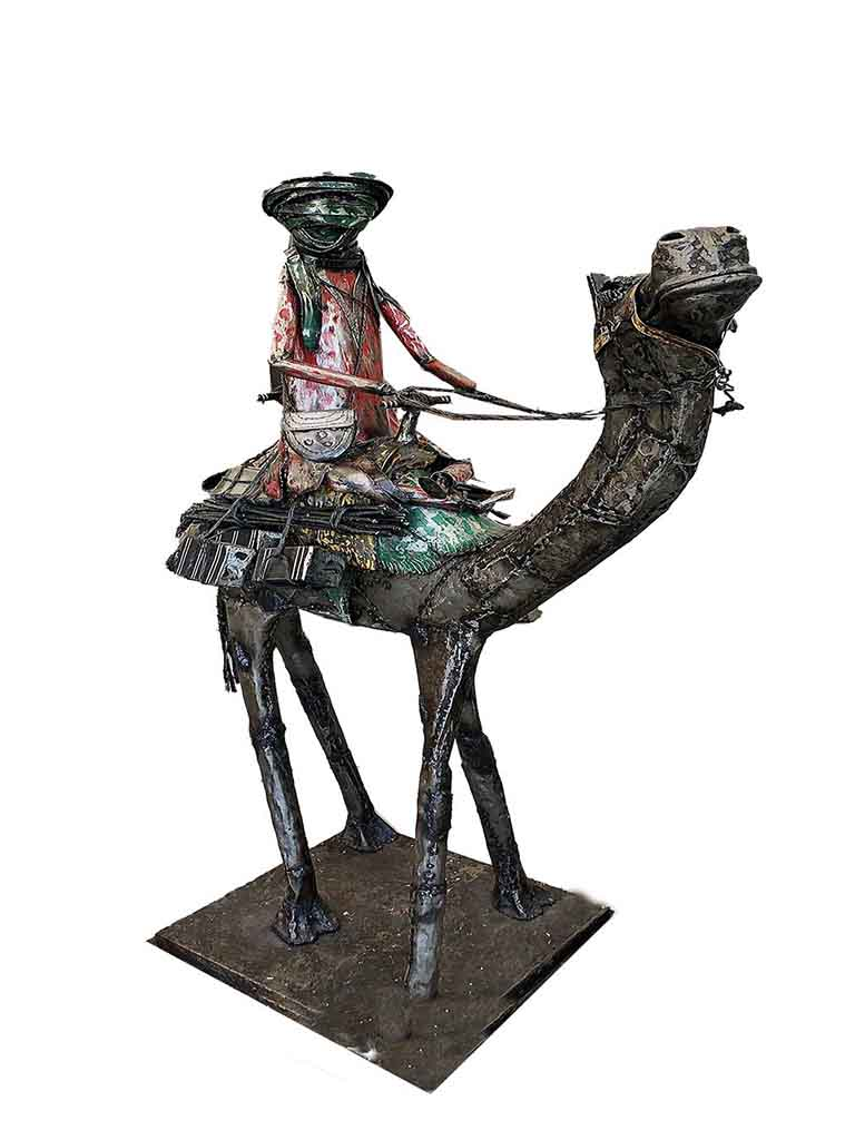 Manal Camel Sculpture