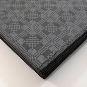 Black Paper Table Cover x 25