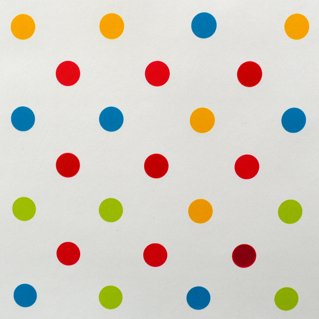 Dotty Multi Polka Vinyl