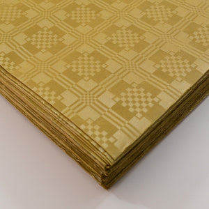 Gold Paper Table Cover x 25