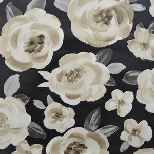 Melissa Charcoal Oilcloth