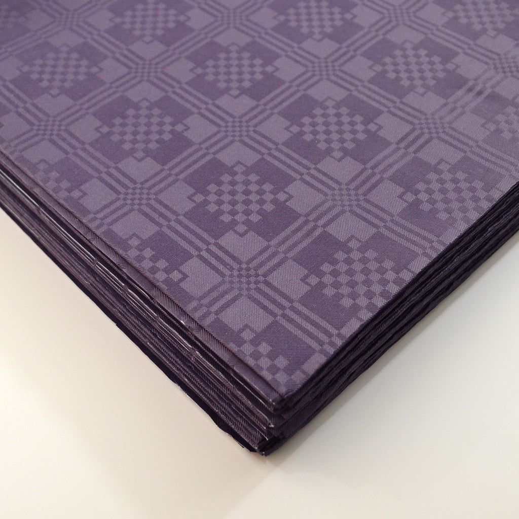 Purple Paper Table Cover x 25