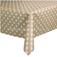 Load image into Gallery viewer, Beige Polka Vinyl