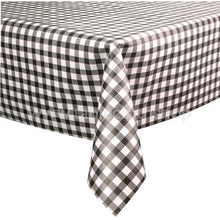 Load image into Gallery viewer, Black Gingham Vinyl