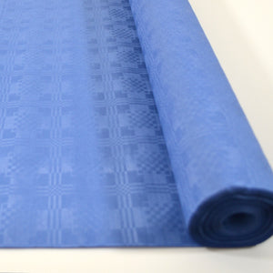 Blue 25m Paper Banquet Roll - Blue