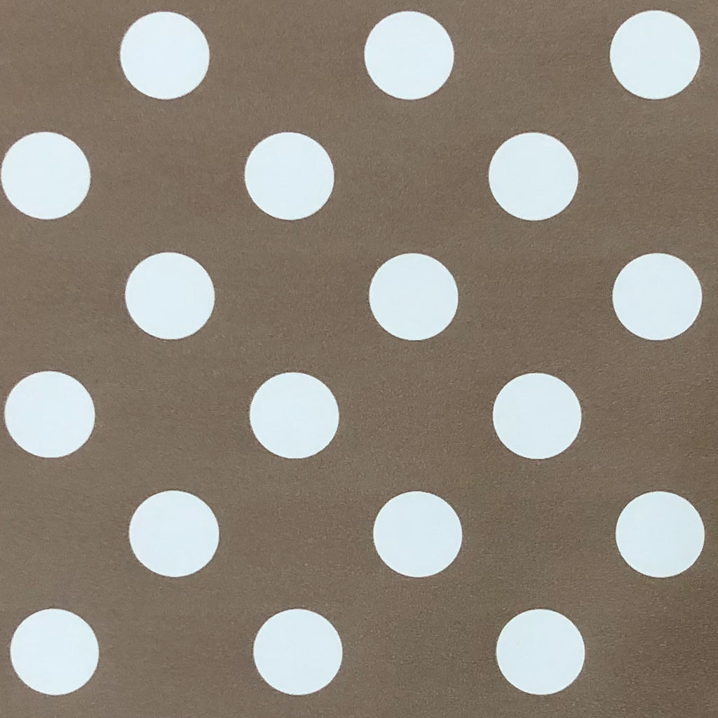 Brown Polka Vinyl