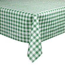 Load image into Gallery viewer, Green Gingham Vinyl