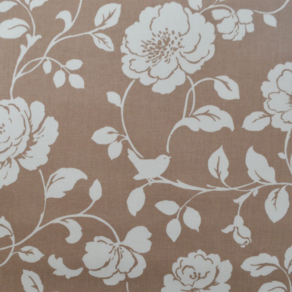 Meadow Taupe Oilcloth