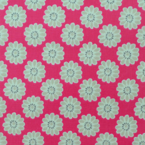 Daisy Pink Oilcloth
