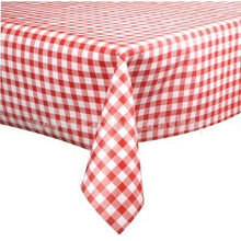 Load image into Gallery viewer, Red Gingham Vinyl