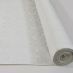 White 50m Paper Banquet Roll - White