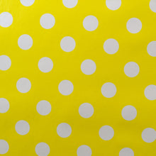 Load image into Gallery viewer, Yellow Polka Vinyl