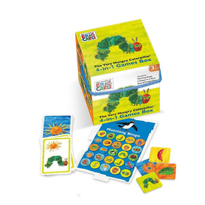 The Very Hungry Caterpillar 4-in-1 Games Cube Paul Lamond University Games